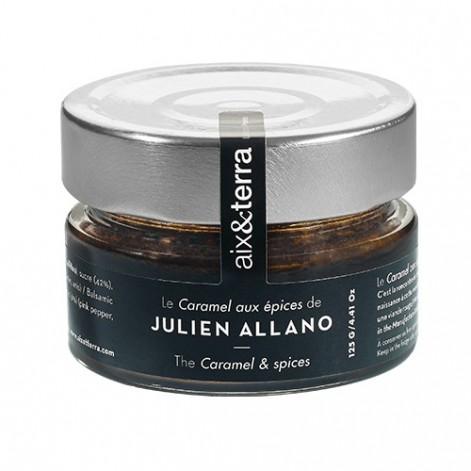 Recette Julien ALLANO - Caramel aux épices 125GR
