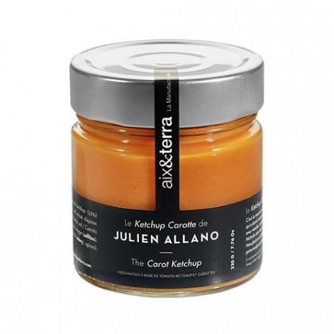 Recette Julien ALLANO - Ketchup de carotte 220GR