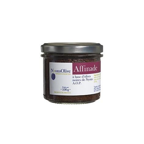 Affinade à base d'olives noires de Nyons AOP 100GR