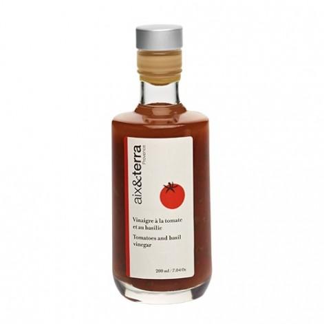Préparation à base de vinaigre à la tomate et au basilic 200ml