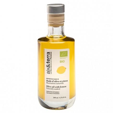 Préparation à base d'huile d'olive au citron BIO 200ml