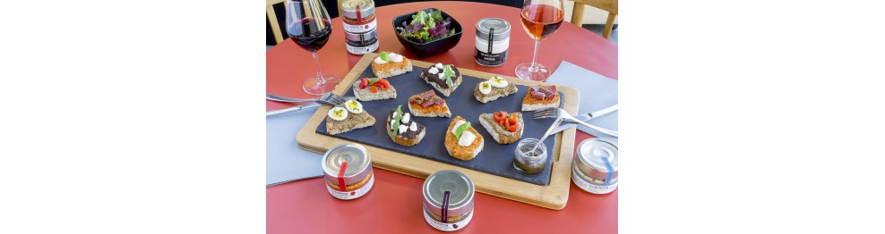 Aperitif recipes by Aix&Terra