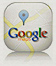 plan Google maps du Clair de la Plume Hôtel Restaurant à Grignan Provence France