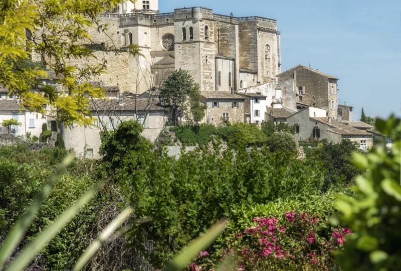 Vue du château Grignan